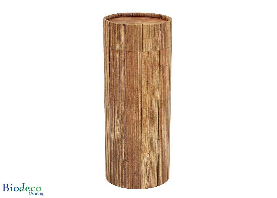 Strooikoker Timber in de standaard maat, voor de crematie-as van een volwassen persoon