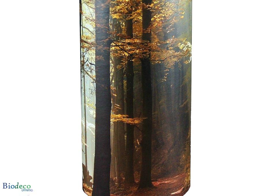 Detail van de strooikoker Herfst, voor het verstrooien van crematie-as
