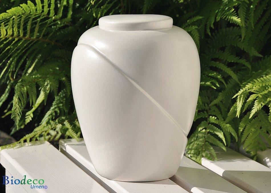 Bio-urn Traditional Parel, biologisch afbreekbaar, voor mooie varens