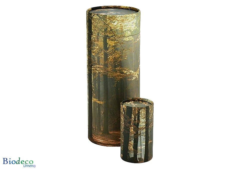 Strooikoker Herfst, in mini- en standaardformaat. Voor het verstrooien van crematie-as