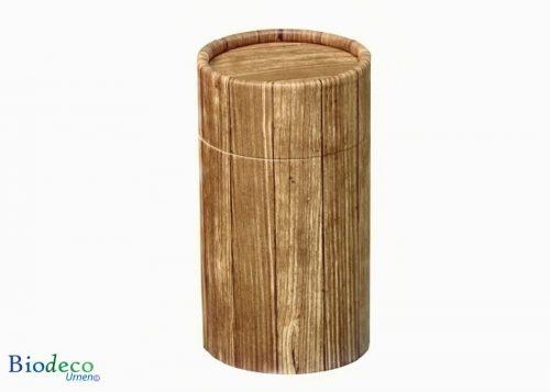 Mini strooikoker Timber, voor het verstrooien van een kleine hoeveelheid crematie-as